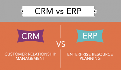 ERP vs CRM what's the difference?!
