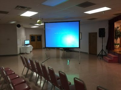 Advantages of Projector and Screens for Presentations in School