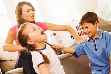 Siblings' Cute Fights Upon these 6 silly things